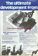 Protocol4 ZX Spectrum AGF Hardware 1985 Vintage Magazine Advert #5303