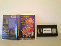 Goldilocks & the three bears / Boucles d'or et les trois ours vhs  FRENCH rare