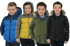 BOYS REGATTA / DARE2B INSULATED WATERPROOF WARM PARKA JACKET SCHOOL COAT