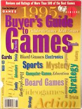 """1995 BUYER'S GUIDE to GAMES PREMIER ISSUE 500 Reviews by Editors of """"GAMES"""""""