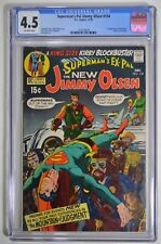 SUPERMAN'S PAL JIMMY OLSEN  #134 CGC 4.5 OW FIRST APPEARANCE OF DARKSEID 12/70