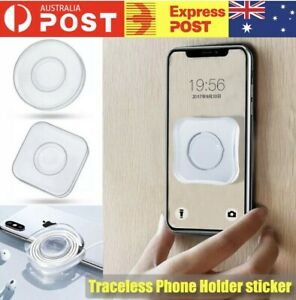 Magic Traceless Sticker Phone Headphone Storage bracket Holder Nano Gel Pad