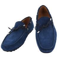 Neuf Fiori Di Lusso Bleu Daim Chaussures - Mocassins - (2018032033)