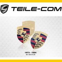 NEU+ORIG. Porsche Wappen/Emblem 911 924 928 944 964 968 Deckel/Haube 1973 - 1994