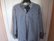 Mens Versace Long Sleeve Button Front Shirt 16 1/2  33-34 Button Front Dress