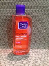 Lot 1 Clean & Clear Essentials Deep Cleaning Astringent Oil-Free Acne Med. 8 Oz
