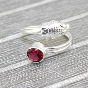 Royal Silver Plated Lovely Multi Quartz Adjustable Ring Jewelry At FREE SHIPPING