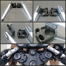 Clip-ons handlebar tubes for KAWASAKI EX250 /Ninja 250R 2008 2009 2010 2011 2012