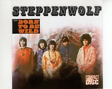 CD STEPPENWOLF	born to be wild	GERMAN 1990 EX+ (B2550)