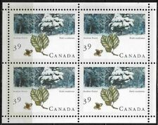 Canada Stamps - Miniature Pane of 4 - Majestic Forest: Acadian Forest #1283a MNH