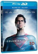 CZŁOWIEK ZE STALI 3D (MAN OF STEEL 3D) - 2 BLU-RAY 3D/2D
