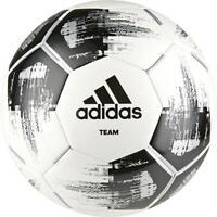 Adidas Fußball Team Glider Ball Trainingsball schwarz weiß