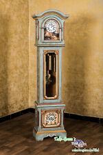 Voglauer Anno 1700 Altblau Standuhr Pendeluhr Landhaus Uhr Kieninger Uhrwerk