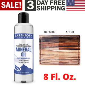 Wood Finishing Mineral Oil Food Grade Safe For Cutting Boards Countertop Bowl