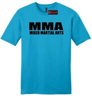 MMA Mixed Martial Arts Soft Mens T Shirt Fighter Trainer Workout Gym BJJ Tee Z2