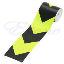 """Night Reflective Safety Warning Conspicuity Tape Strip Arrow Sticker 2""""X118"""" 3M"""
