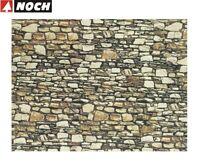 """NOCH H0/TT 57710 Mauerplatte """"Dolomit"""" 64 x 15 cm (1 m² - 35,32 €) - NEU + OVP"""