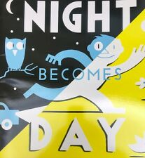 Teacher Big Book NIGHT BECOMES DAY Kindergarten 1st Oversized Shared Reading
