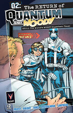 Q2: THE RETURN OF QUANTUM AND WOODY (2014) #2 VF/NM COVER A VALIANT COMICS