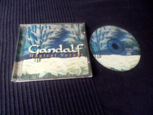 CD Gandalf - Magical Voyage 14 Songs 1995 Best Of Greatest Hits 1987-1993