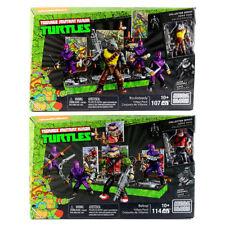 Teenage Mutant Ninja Turtles Mega Bloks Bebop And Rocksteady Villain Packs Sets