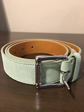 Ralph Lauren MINT  Made in Italy Suede & Leather Belt SIZE 38 NEW!!!!