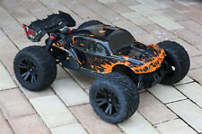 Custom Body Muddy Orange Buggy for ARRMA 1/10 Kraton 4S BLX 4x4 Truck Car Shell
