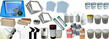 4 Colors Screen Printing Materials Kit *Free Shipping*