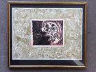 Pierre Alechinsky Double Vue Linocut And Lithograph 1970 Cobra Art