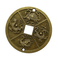 Chinesische Feng Shui Amulett Glücksmünzen für Glück