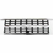 For Chevy Suburban Gmc Blazer 89-91 Grille Grill Chrome Dual Rct GM1200169