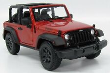MAISTO 1:18 SPECIAL EDITION 2014 JEEP WRANGLER WILLYS EDITION Diecast Car 31610C