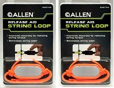 Bow String Loop Release Aid - Allen Archery (6-Pack) - Orange - 54514A Hunting