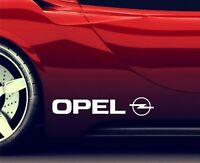 2x Side Skirt Stickers Fits Opel Logo Premium Qaulity Graphics Decals RA69