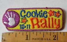 Girl Scout 2010 2011 COOKIE SALE RALLY PATCH Selling Boxes Incentive Award NEW