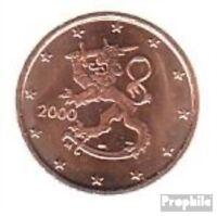 Finnland FIN 1 2000 Stgl./unzirkuliert 2000 Kursmünze 1 Cent