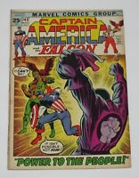 Captain America #143 1971 Marvel Comics FN/VF