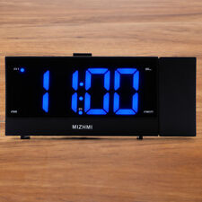 Large Display 12/24 Hour FM Projection Alarm Clock with Dimmer Sleep Timer