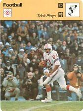 RUSS FRANCIS 1978 Sportscaster card #31-02 NEW ENGLAND PATRIOTS