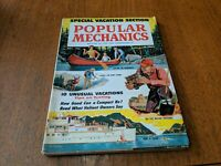 POPULAR MECHANICS MAGAZINE  MAY 1960 Special Vacation Section Vintage.