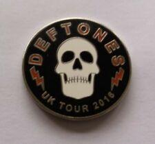 DEFTONES UK 2016 CONCERT PIN THE GORE TOUR