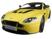 ASTON MARTIN VANTAGE S V12 YELLOW 1/24 DIECAST MODEL CAR BY MOTORMAX 79322
