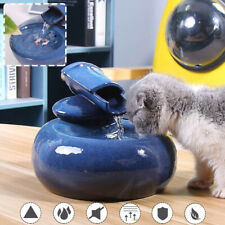 6 Type Ceramic Pet Cat Puppy Dog Supplies Water Dispenser Automatic Feeder  New