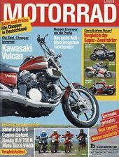 Motorrad 15 85 1985 AME Yamaha RD 500 Cagiva Elefant BMW R 80 GS Guzzi V 65 TT