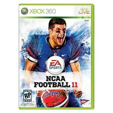 NCAA Football 11 Florida Gators #15 TIM TEBOW Cover Xbox 360 NEW SEALED