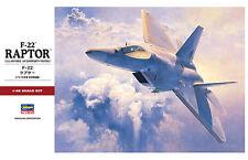 Hasegawa PT45 F-22 RAPTOR (US Air Force) 1/48 scale kit