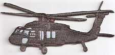 UH 60 HELICOPTER Aircraft Aviation Collectable Military Emblem Patch Black Hawk