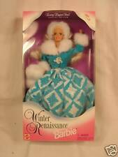 NEW Mattel Barbie Doll Winter Renaissance Barbie 15570