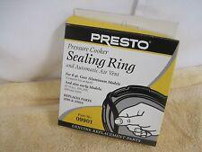 Presto 09901 9901 Pressure Cooker Sealing RIng Gasket & Air Vent Genuine