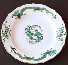Meissener Porzellan Teller Königliches Meissen grüner Drache grün 25cm um 1930
